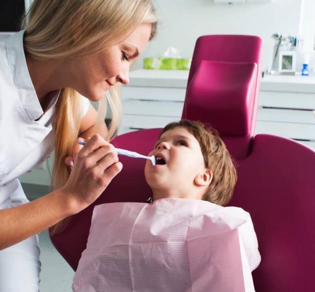Vaikų dantų traumos